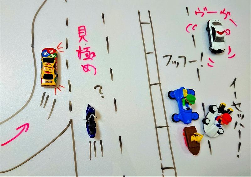 高速道路で合流されるの例②