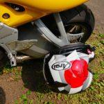 ツーリング休憩中のヘルメットの置き方の答え(もう一つの答え)