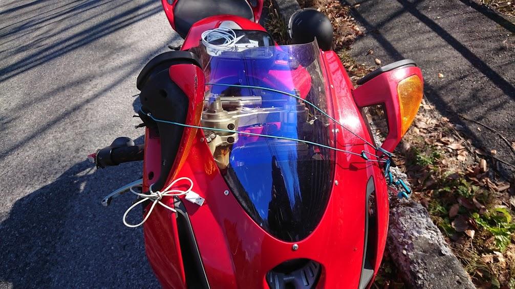 事故や転倒したからバイクを降りる