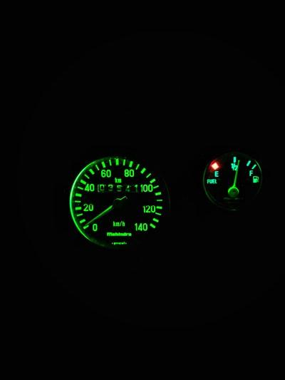 バイクの燃料計