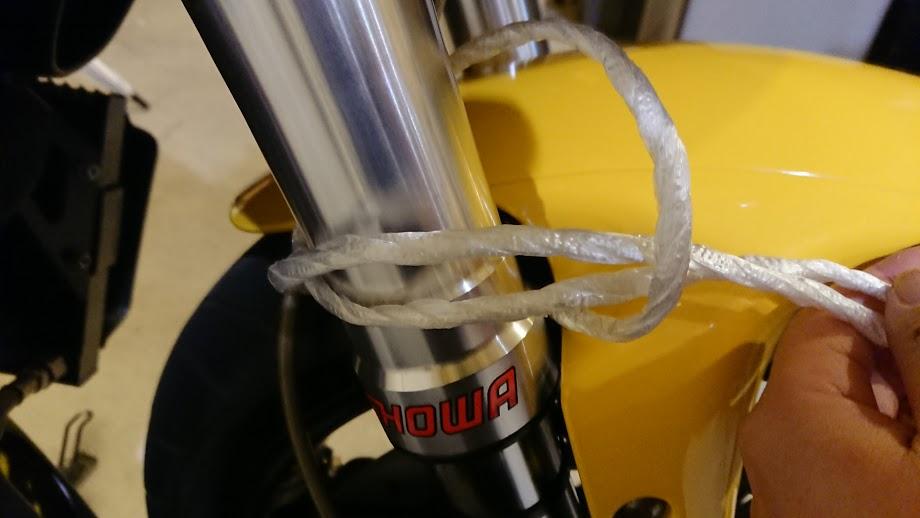 ロープの設置方法③