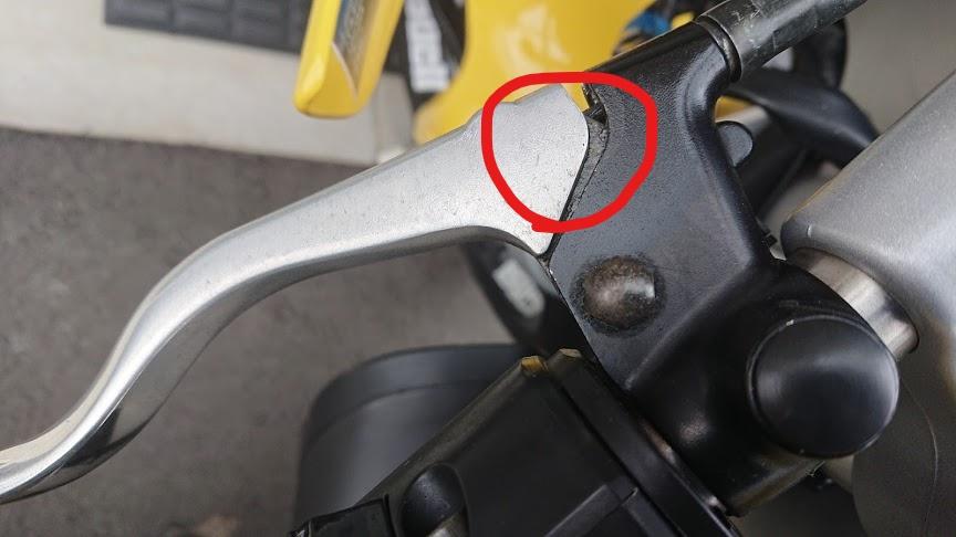 クラッチレバーにダイヤルがついていれば調整しやすい