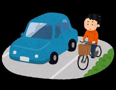 危険な自転車