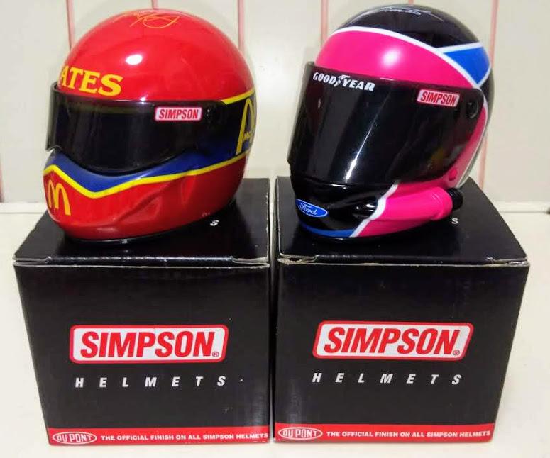 マクドナルドデザインのシンプソンヘルメット